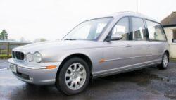 2 - Jaguar XJ6 stretch limousines and a Jaguar XJ6 hearse ** Relisted due to a default bidder **