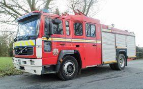 Volvo fire engine Registration Number: MF51 EXR Date of Registration: 01/10/2001 MOT Expires: