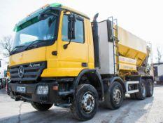Mercedes Benz Actross manual 32 tonne 8 wheel volumetric mixer wagon Registration Number: GN57 ONT