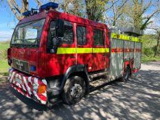 MAN fire engine Registration Number: X372 BOD Date of Registration: MOT Expires: Recorded k/m's: