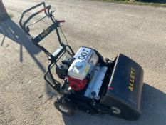 Allet Tournament 24 petrol driven cylinder mower Year: 2014 S/N: 14-308