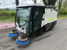 Johnston Dawsons CX201 sweeper Registration Number: LJ14 CGE Year: 2014 S/N: 205034 Recorded