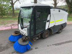 Johnston Dawsons CX201 sweeper Registration Number: LJ14 CHV Year: 2014 S/N: 205043 Recorded