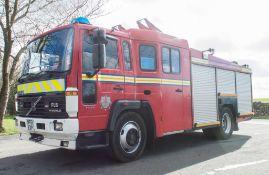 Volvo FL6 14 Fire engine Registration Number: MF51 EXP Date of Registration: 01/10/2001 MOT Expires: