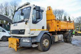 DAF 55 220 4x2 18 tonne tipper lorry Registration Number: RK61 YUH Date of Registration: 05/12/