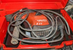Hilti TE40 110v SDS rotary hammer drill c/w carry case A744552