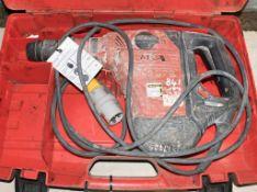 Hilti TE-6 110v SDS rotary hammer drill c/w carry case A769968