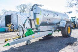Joskin 8400ME 8500 litre galvanised slurry tanker Year: 2019 S/N: 35721 c/w standard tractor