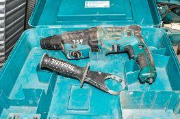 Makita 110v power drill c/w carry case ** Cord cut **