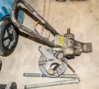 Ridgid 916 roll groover & other Ridgid spares as photographed