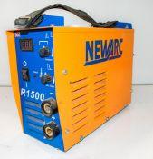 Newarc 110v R1500 invertor welder A780211