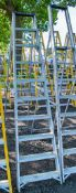 10 tread aluminium step ladder