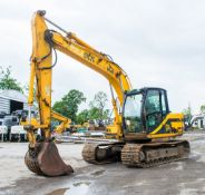 JCB JS130 13 tonne steel tracked excavator Year: 2001 S/N: E0759780 Recorded Hours: Not displayed