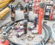 5 - hydraulic cylinder jacks and hose