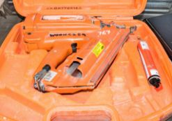 Paslode nail gun c/w carry case ** No charger or battery **