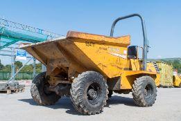 Benford Terex PT3000 3 tonne straight skip dumper Year: 2005 S/N: E501AR012 Recorded Hours: Not