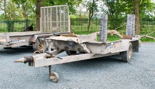 Ifor Williams GH1054BT 10' by 5' plant trailer  S/N: 620906 **wheel missing**  A617611