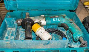 Makita HP2070 110v power drill c/w carry case A760275