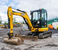 JCB 8030 3.0 tonne rubber tracked mini excavator Year: 2014 S/N: 2116919 Recorded hours: 2431