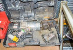 Edilgrappa 110v shear/pipe bender c/w carry case A699128