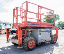 Skyjack SJ6826RT 4X4diesel driven scissor lift access platform Year: 2012 S/N: 37002999 Recorded
