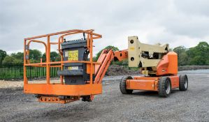 JLG M450AJ battery electric/diesel 4WD articulated boom lift access platforms  Year: 2007 S/N: 22639