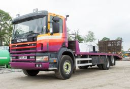 Scania 260 94D 26 tonne 6x2 beaver tail plant lorry Registration Number: BF52 JXY Date of