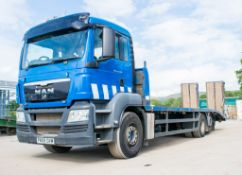 MAN TGS 26.360 26 tonne beaver tail plant lorry  Registration Number: PN09 DVM Date of Registration: