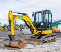 JCB 8025 2.5 tonne rubber tracked mini excavator  Year: 2014  S/N: 2226523 Recorded hours: 2082