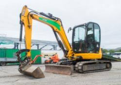 JCB 8050 RTS reduced tail swing rubber tracked mini excavator  Year: 2013 S/N: 741958 Recorded
