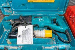 Makita 110v power drill c/w carry case A684797