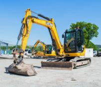 JCB 8085 ZTS 8 tonne rubber tracked excavator Year: 2013 S/N: 01073046 Recorded hours: Not