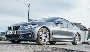 BMW 430D M sport automatic diesel car Registration number: FV64 HZP Date of registration: 28/11/