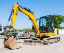 JCB 8050 RTS 5 tonne rubber tracked excavator  Year: 2013 S/N: 01741953 Recorded hours: 2787