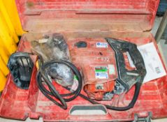 Hilti 110v SDS rotary hammer drill c/w carry case ** parts missing ** A684086