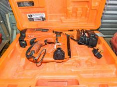 Paslode IM65 nail gun c/w charger, battery & carry case A721937