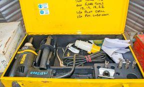 REMS 110v flaring machine c/w carry case