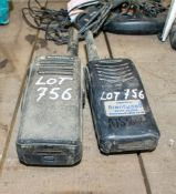 Kenwood & Motorola 2 way radios