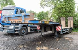 King GTS 444 tri axle step frame low loader Year: 2008 S/N: 894081 Ministry No: C276586 c/w