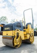 Bomag BW80 ADH-2 double drum ride on roller Year: 2007 S/N: 604256 Recorded Hours: 1503 S8082