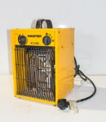 Master 240v fan heaters
