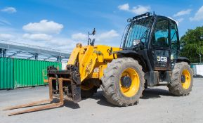 JCB 531-70 7 metre telescopic handler Year: 2014 S/N: 2341330 Recorded Hours: 3429 c/w hydraulic