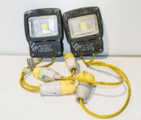 2 - 110v LED inspection lamps