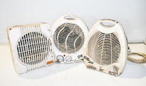 3 - 240v fan heaters