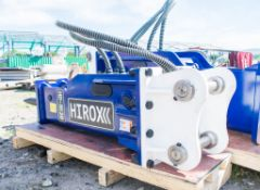4-7 tonne Hirox hydraulic breaker  ** New and Unused** 40 HLJ015 Pin size: 50mm Pin spacing: 350mm