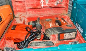 Hilti TE4-A22 SDS cordless rotary hammer drill c/w charger, battery & carry case A694301