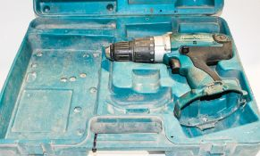 Makita cordless power drill c/w carry case ** No battery & charger **