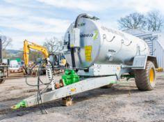 Joskin 8400ME 8500 litre galvanised slurry tanker Year: 2019 S/N: 35719 c/w hydraulic driven PTO