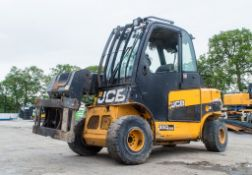 JCB TLT 35D Wastemaster 4 wheel drive telescopic fork lift truck Year: 2013 S/N: 11512060 Recorded