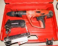 Hilti DX460 nail gun c/w carry case A622770